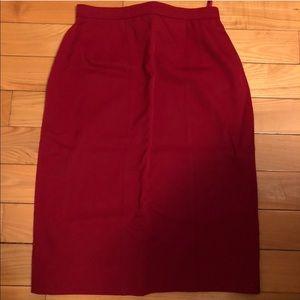 Chanel mid length skirt